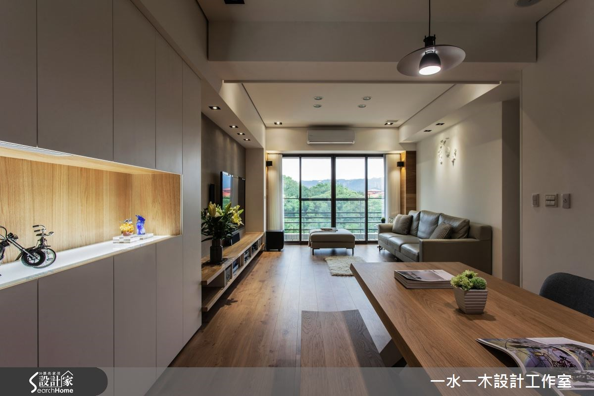 新成屋(5年以下)_簡約風客廳餐廳案例圖片_一水一木設計工作室_一水一木_07之2