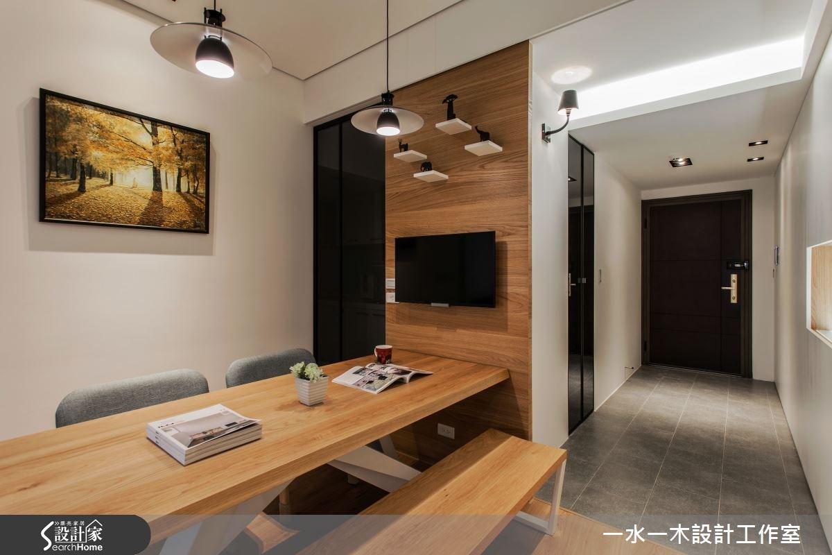 新成屋(5年以下)_簡約風餐廳走廊案例圖片_一水一木設計工作室_一水一木_07之4