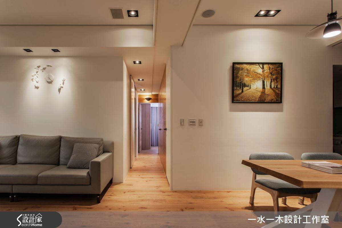 新成屋(5年以下)_簡約風走廊案例圖片_一水一木設計工作室_一水一木_07之10