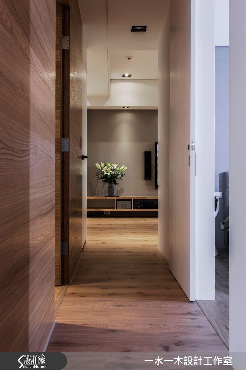 新成屋(5年以下)_簡約風走廊案例圖片_一水一木設計工作室_一水一木_07之11