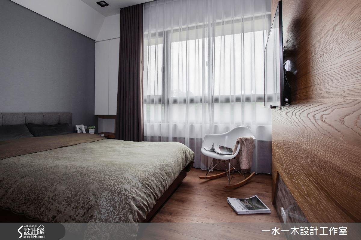 新成屋(5年以下)_簡約風臥室案例圖片_一水一木設計工作室_一水一木_07之12
