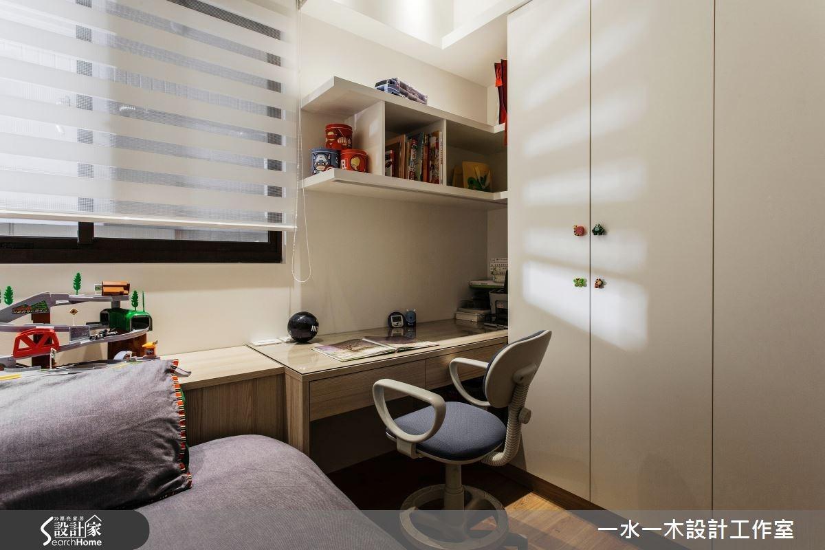 新成屋(5年以下)_簡約風臥室案例圖片_一水一木設計工作室_一水一木_07之14