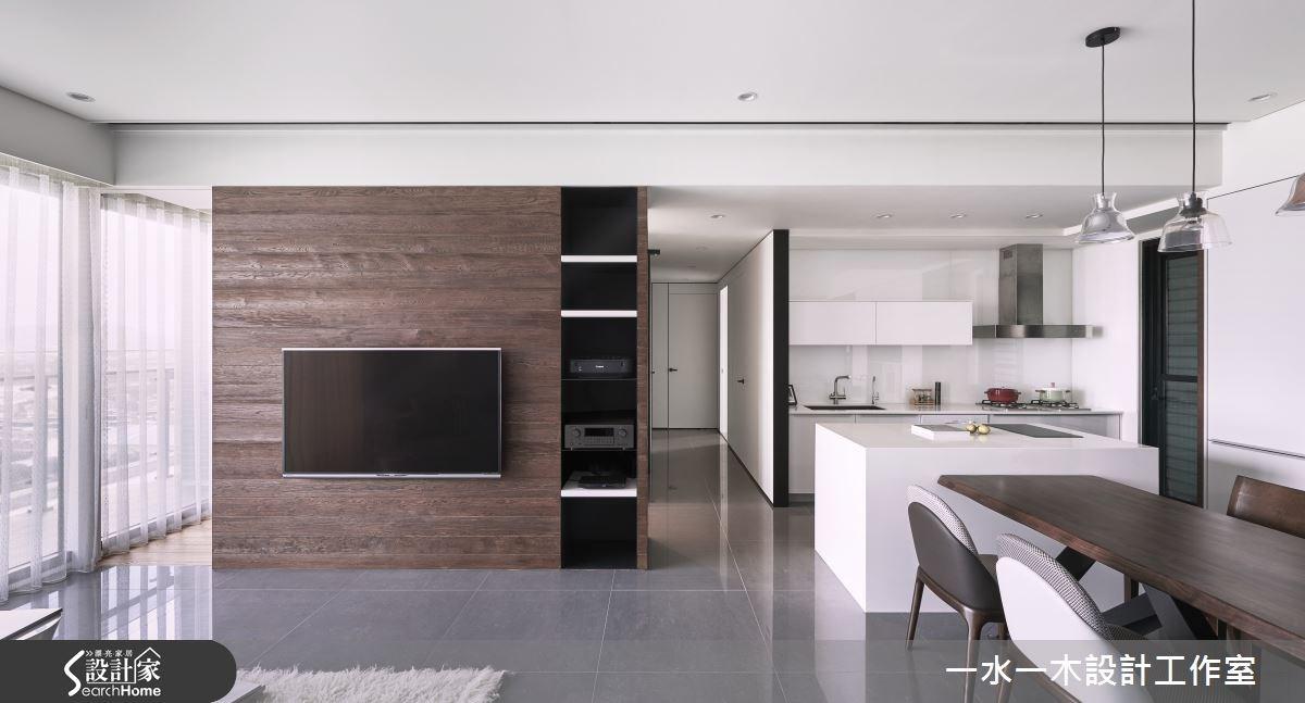 新成屋(5年以下)_現代風客廳餐廳廚房案例圖片_一水一木設計工作室_一水一木_09之2
