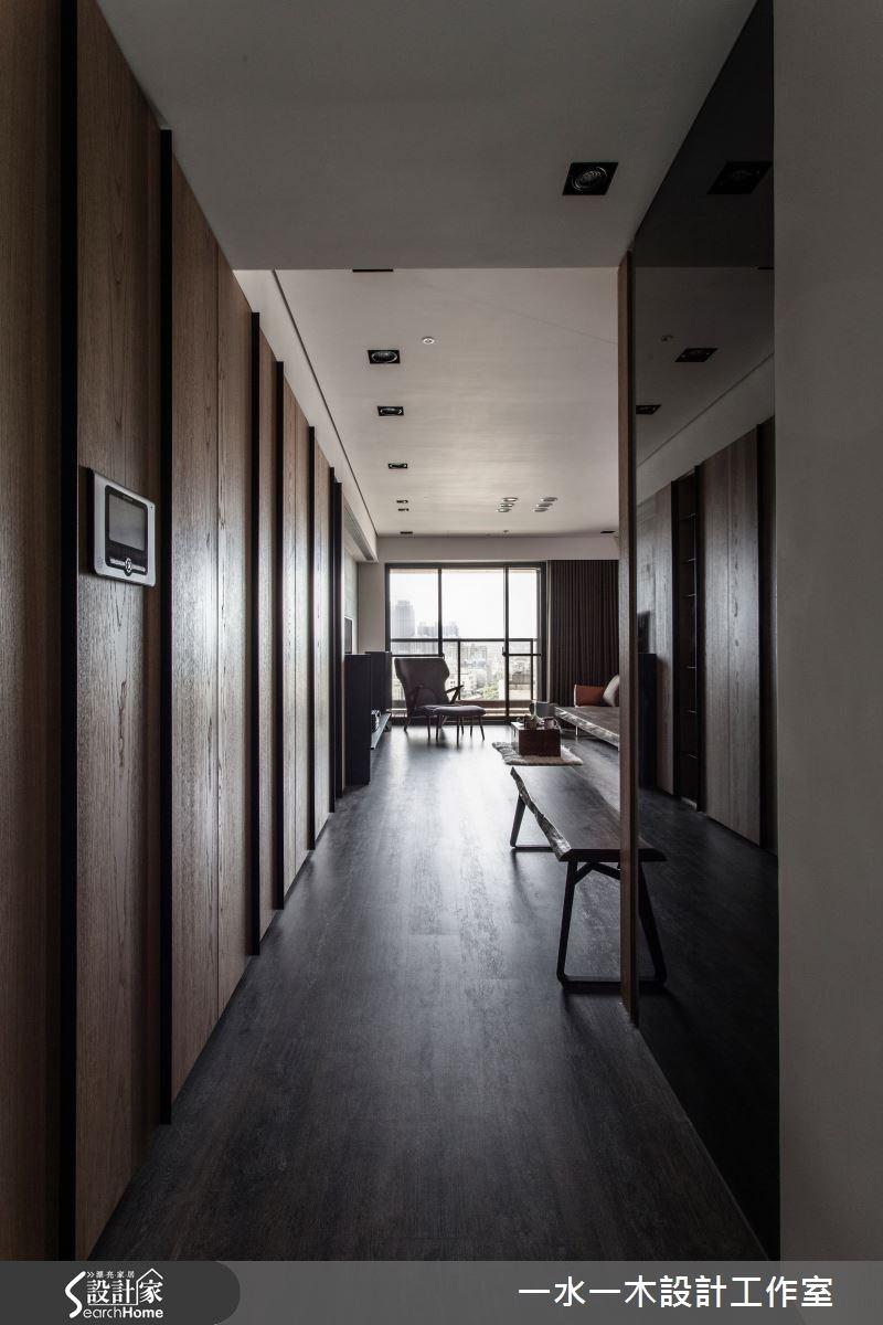 28坪新成屋(5年以下)_工業風走廊案例圖片_一水一木設計工作室_一水一木_11之1