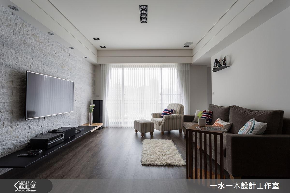 新成屋(5年以下)_現代風客廳案例圖片_一水一木設計工作室_一水一木_12之1