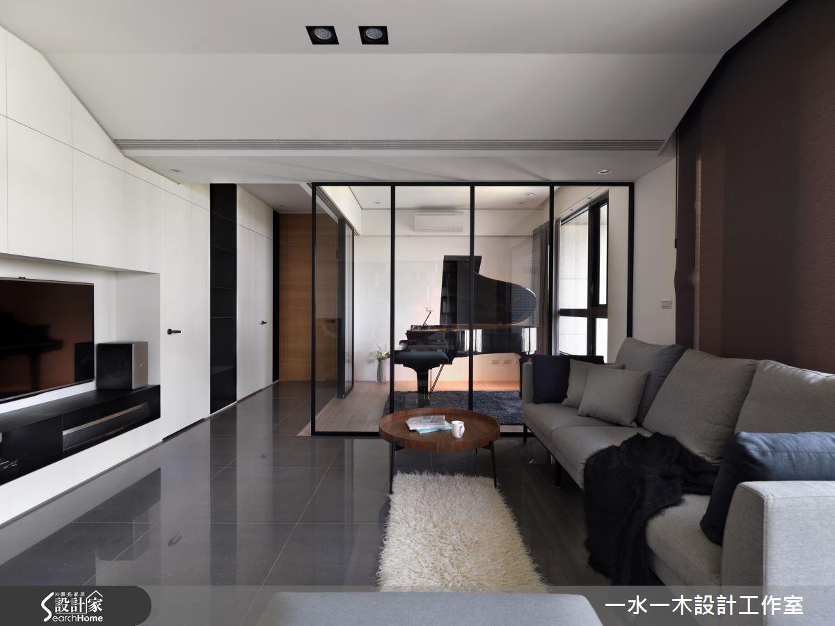 33坪新成屋(5年以下)_北歐風客廳案例圖片_一水一木設計工作室_一水一木_14之4