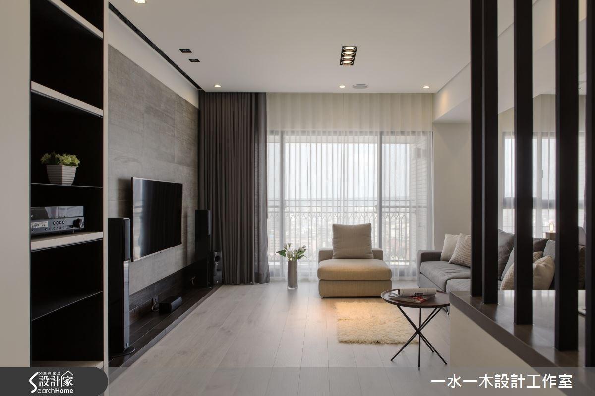 26坪新成屋(5年以下)_現代風客廳案例圖片_一水一木設計工作室_一水一木_17之1