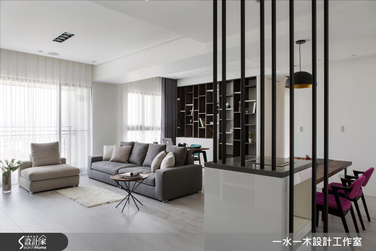 26坪新成屋(5年以下)_現代風客廳案例圖片_一水一木設計工作室_一水一木_17之3