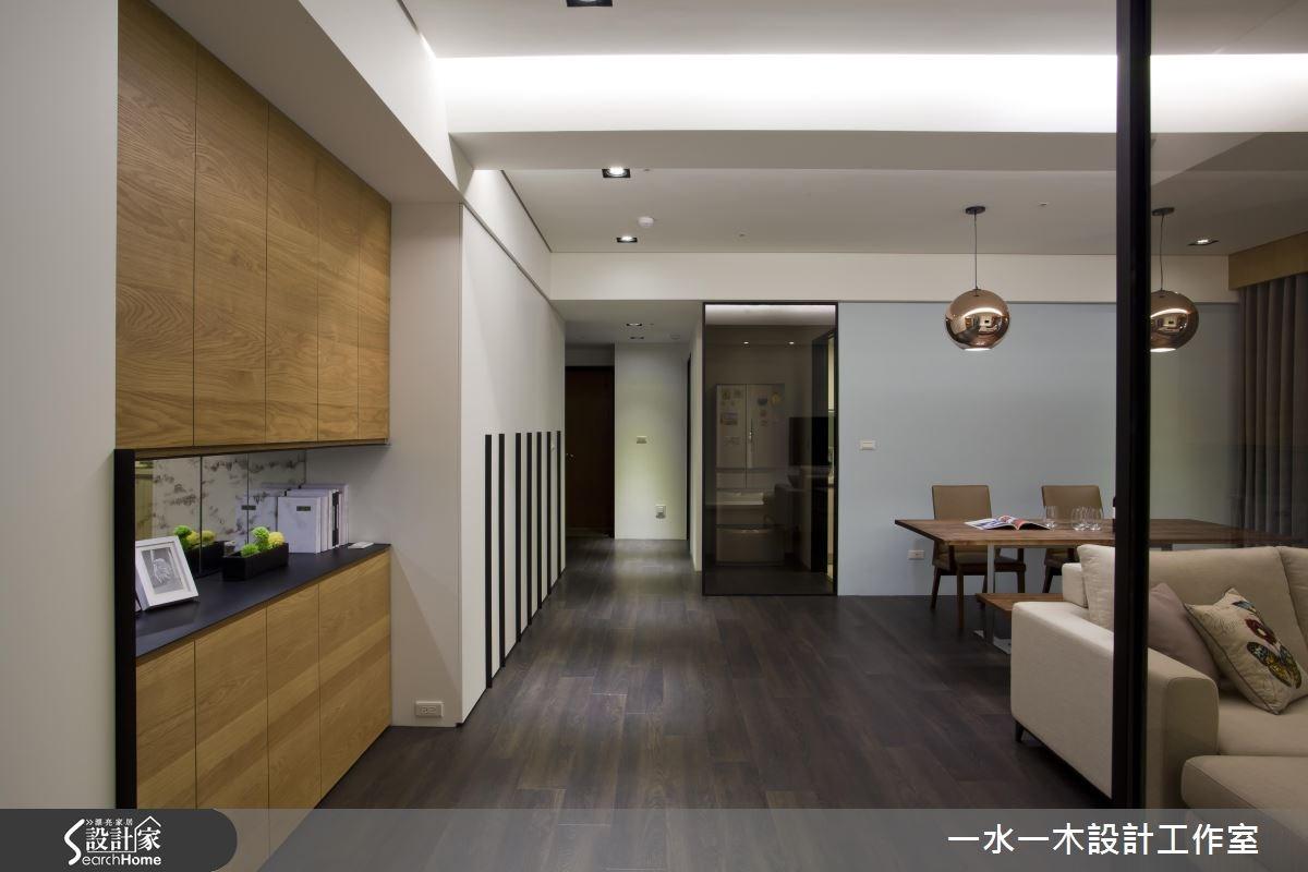 36坪新成屋(5年以下)_奢華風玄關走廊案例圖片_一水一木設計工作室_一水一木_19之3