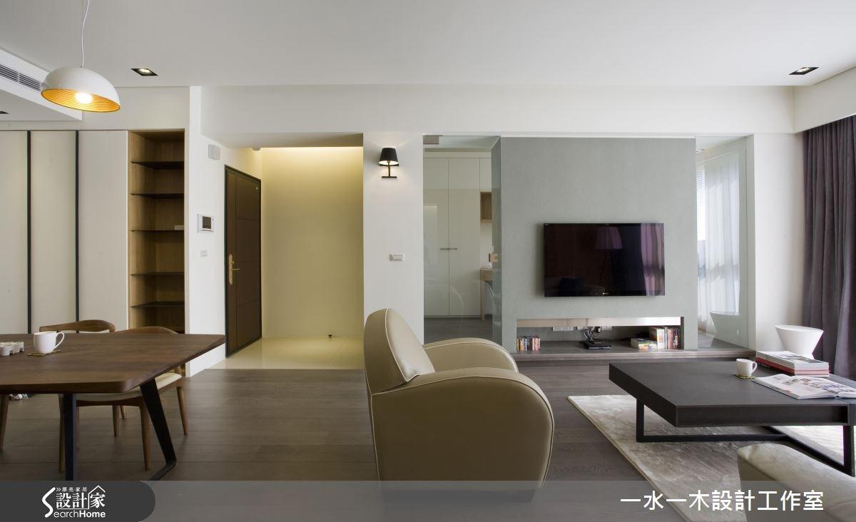 新成屋(5年以下)_現代風客廳餐廳案例圖片_一水一木設計工作室_一水一木_21之1