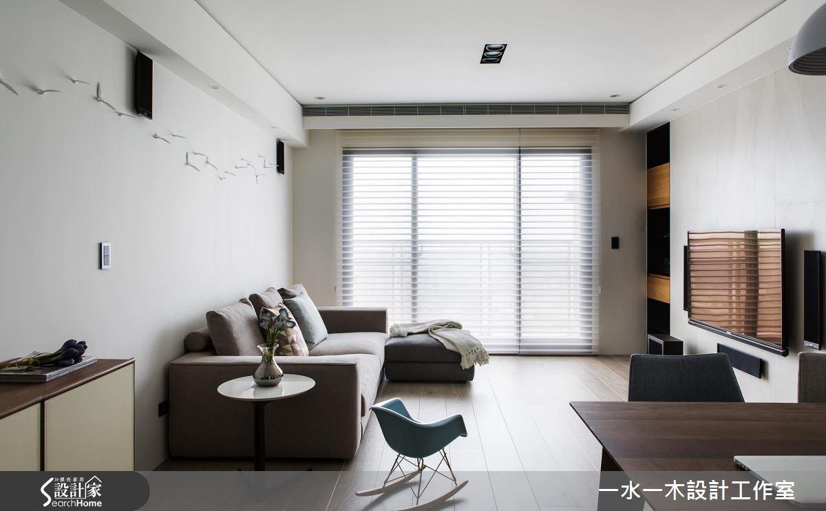 27坪新成屋(5年以下)_簡約風客廳案例圖片_一水一木設計工作室_一水一木_22之3