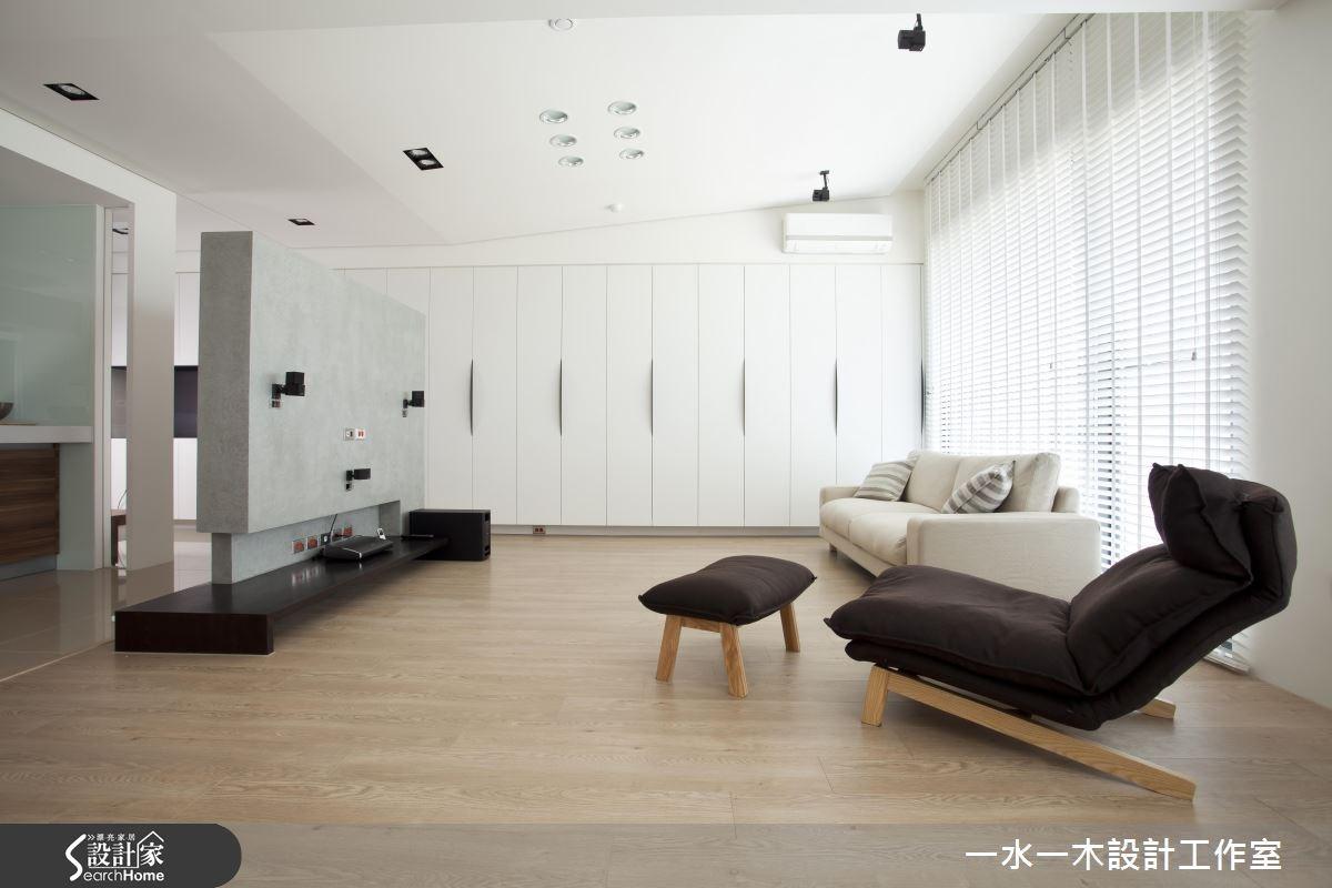 38坪新成屋(5年以下)_北歐風客廳案例圖片_一水一木設計工作室_一水一木_23之1