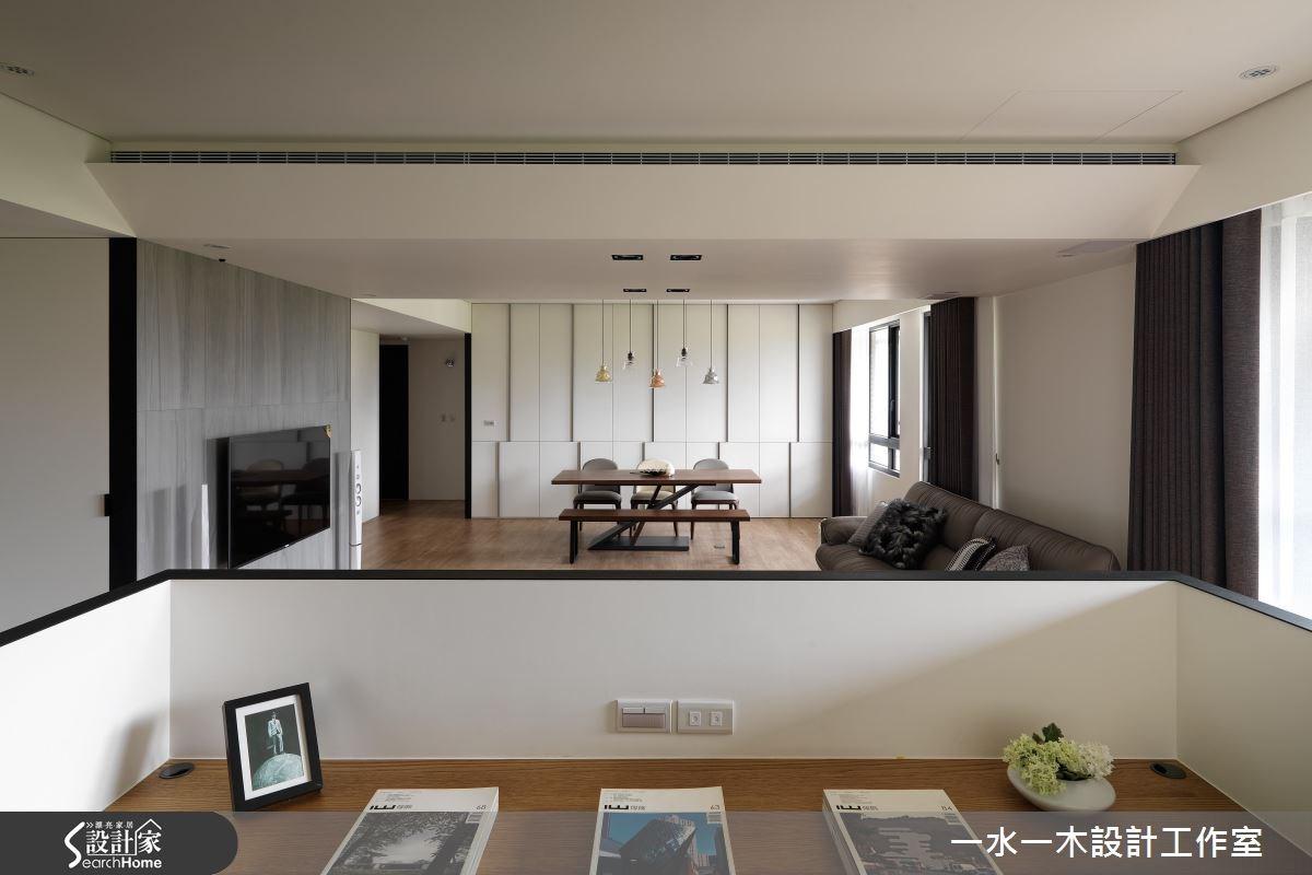 新成屋(5年以下)_休閒風客廳餐廳書房案例圖片_一水一木設計工作室_一水一木_25之4
