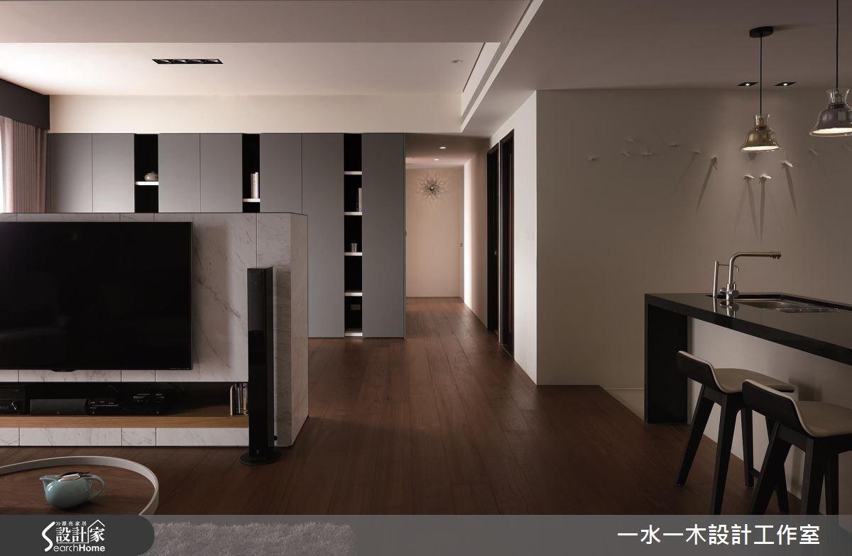 新成屋(5年以下)_休閒風客廳廚房走廊案例圖片_一水一木設計工作室_一水一木_26之6