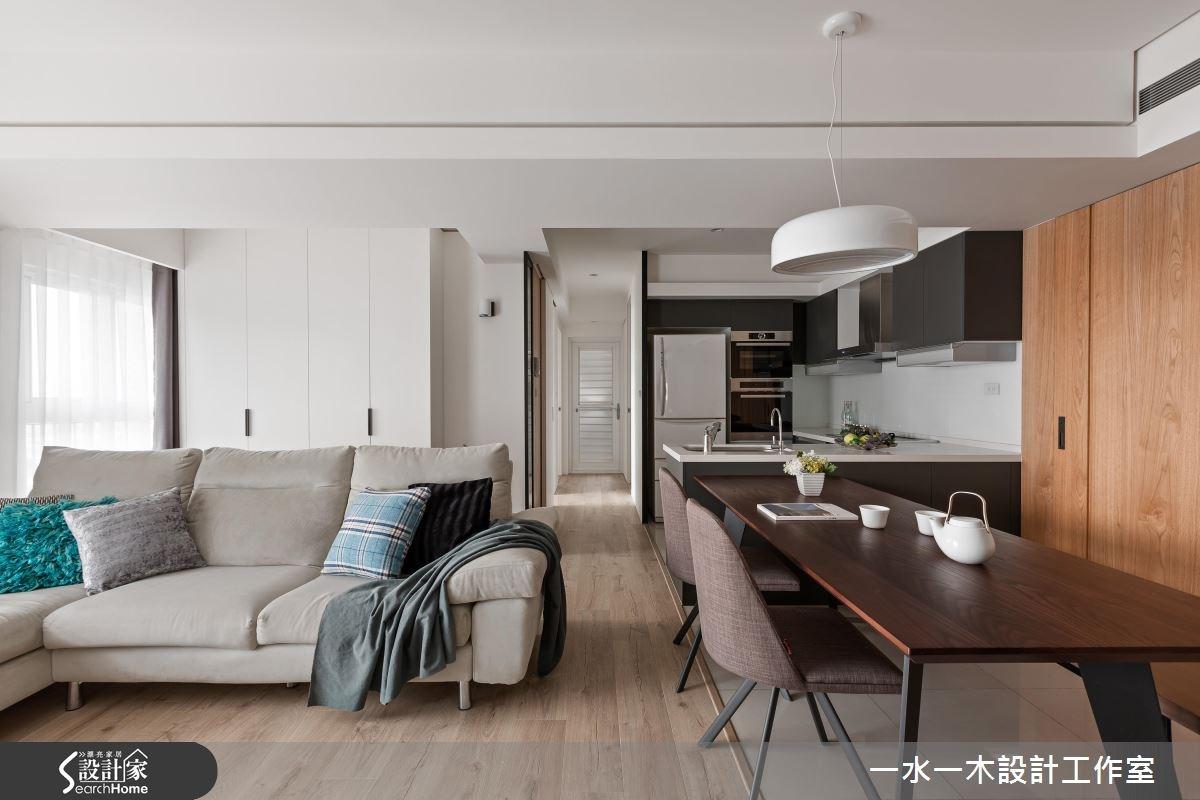 新成屋(5年以下)_現代風客廳餐廳廚房案例圖片_一水一木設計工作室_一水一木_27之1