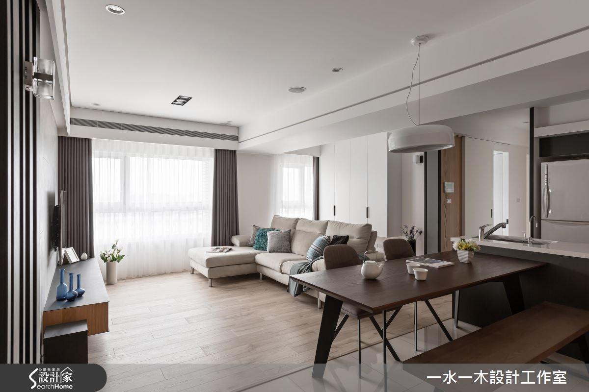 新成屋(5年以下)_現代風客廳餐廳案例圖片_一水一木設計工作室_一水一木_27之2