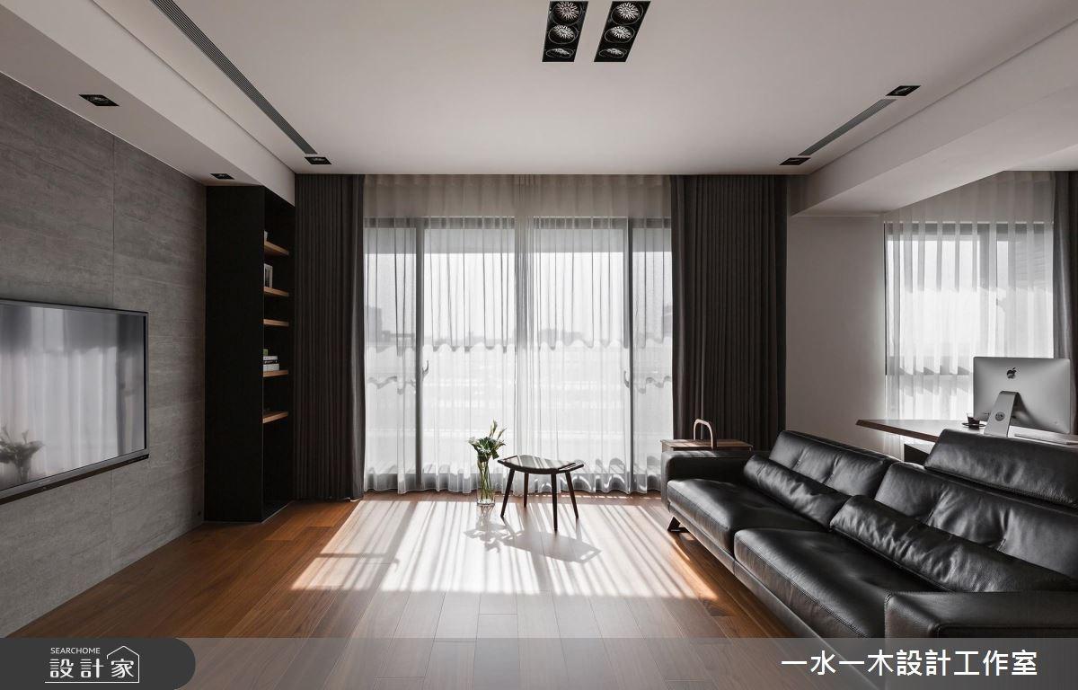 38坪新成屋(5年以下)_奢華風客廳案例圖片_一水一木設計工作室_一水一木_28之3