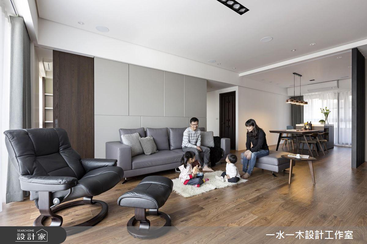 格局重整多1房!低甲醛木質調的現代風人文質感