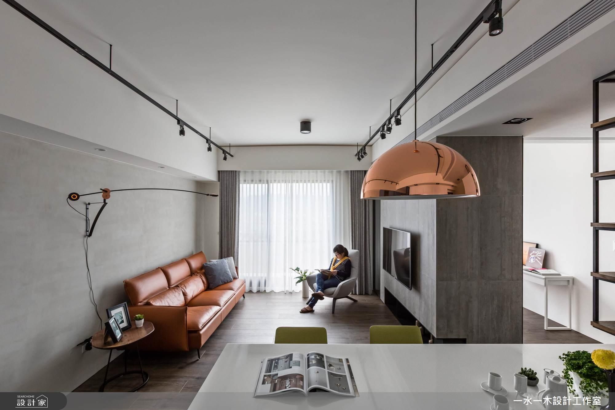 23坪新成屋(5年以下)_工業風客廳案例圖片_一水一木設計工作室_一水一木_34之13