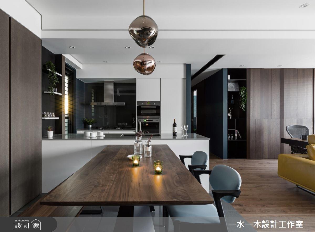 20坪新成屋(5年以下)_現代風餐廳案例圖片_一水一木設計工作室_一水一木_36之4