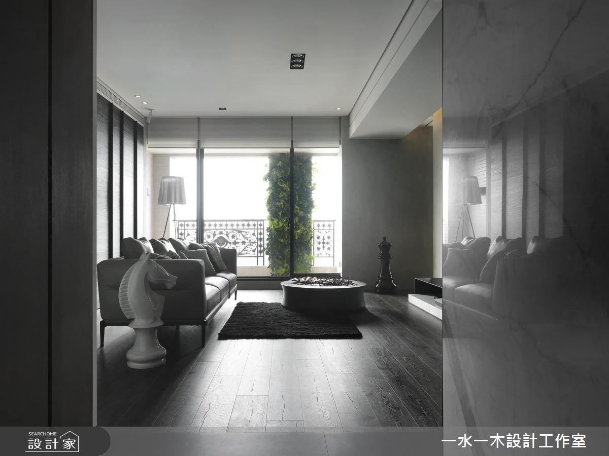 39坪新成屋(5年以下)_現代風客廳案例圖片_一水一木設計工作室_一水一木_37之3