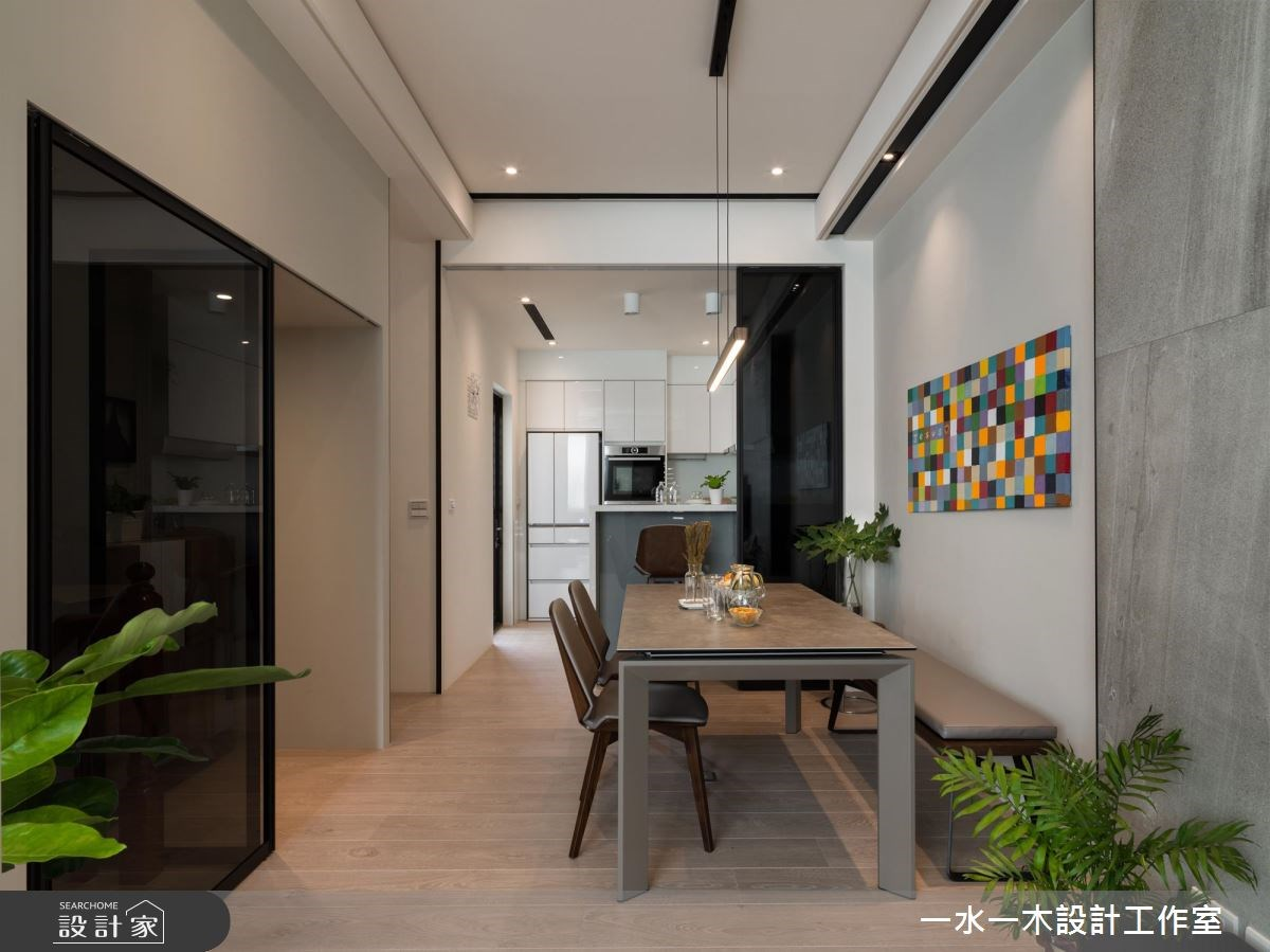 58坪新成屋(5年以下)_現代風餐廳案例圖片_一水一木設計工作室_一水一木_39之4