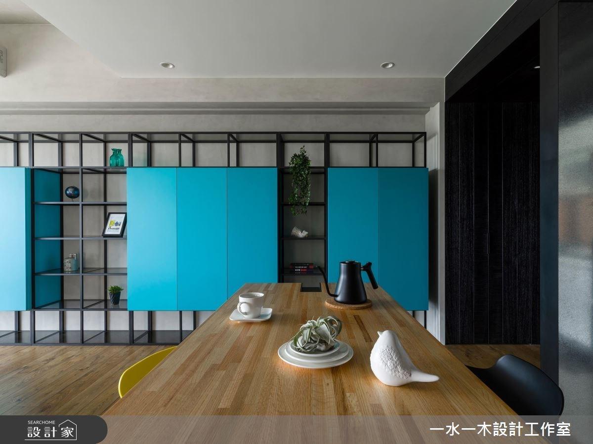 19坪新成屋(5年以下)_混搭風餐廳案例圖片_一水一木設計工作室_一水一木_40之3