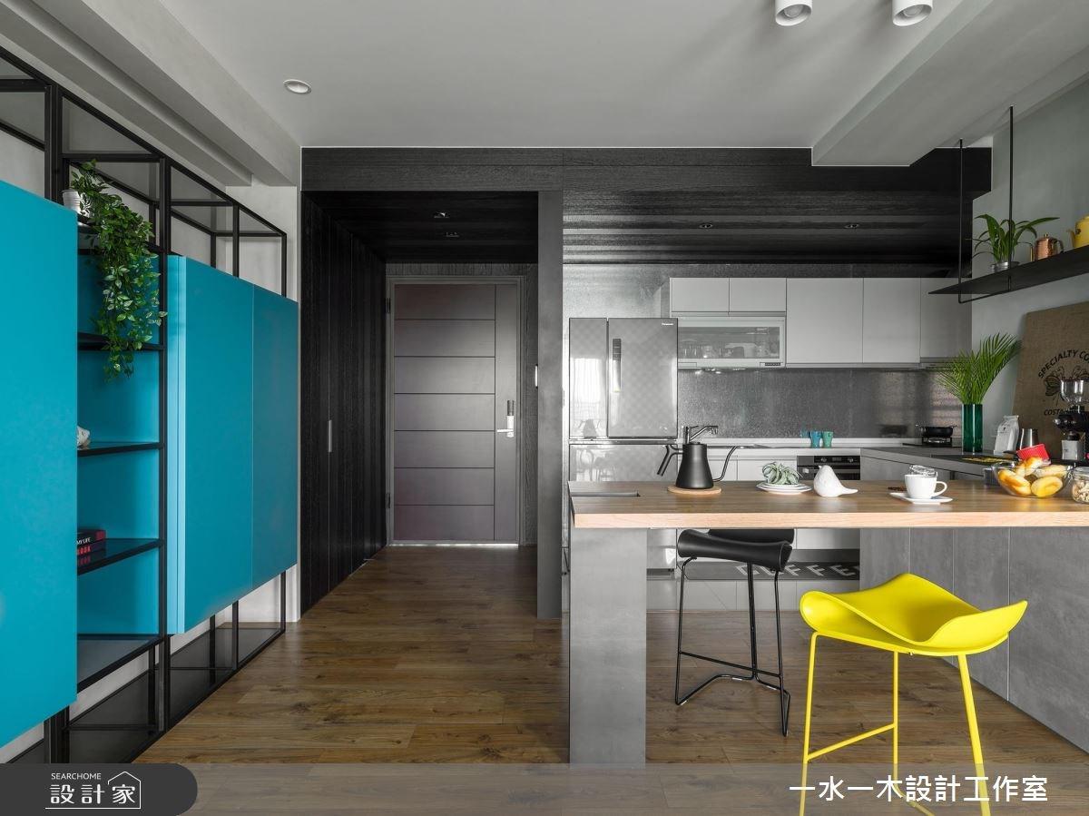 19坪新成屋(5年以下)_混搭風餐廳案例圖片_一水一木設計工作室_一水一木_40之5