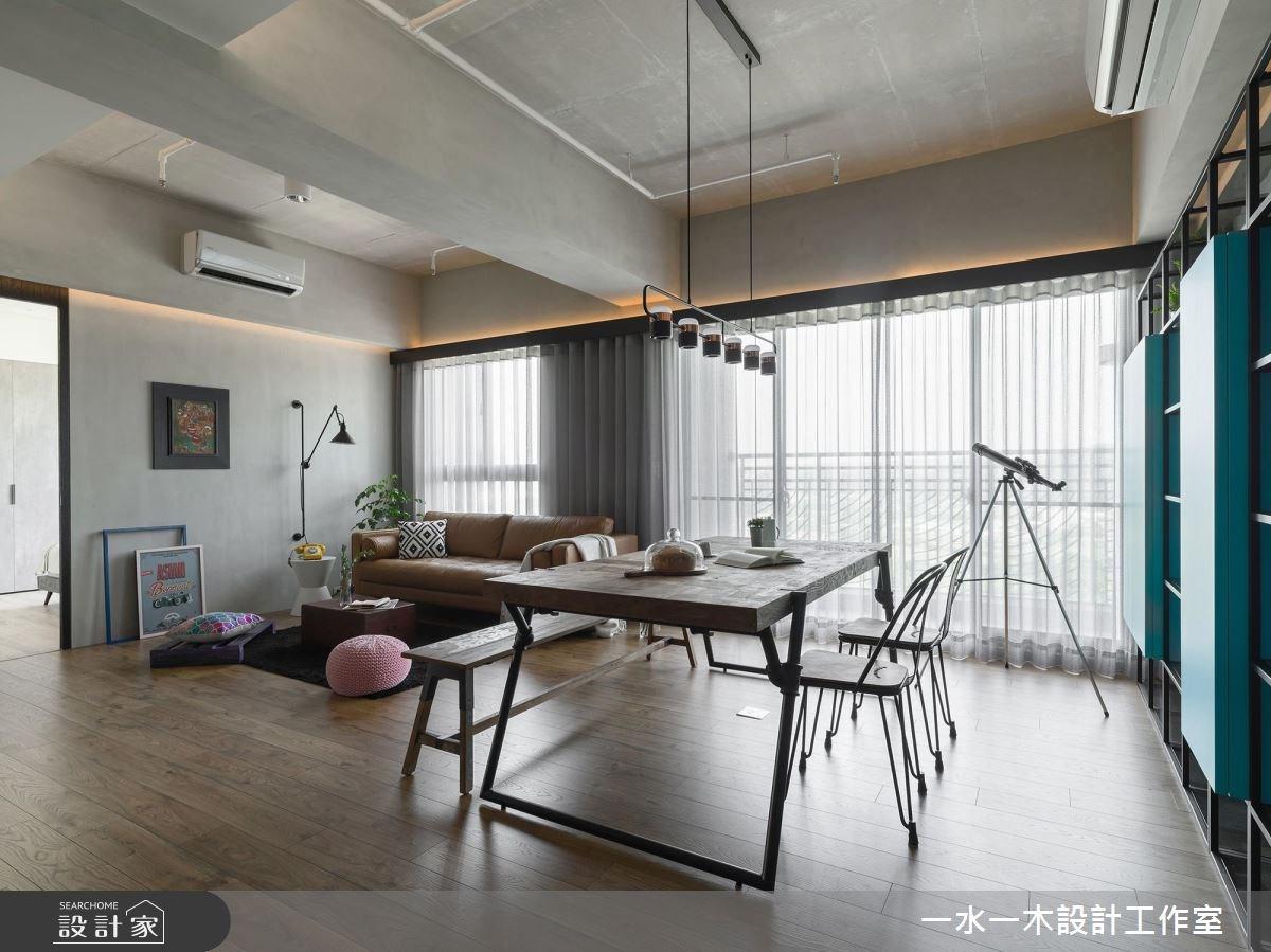 19坪新成屋(5年以下)_混搭風餐廳案例圖片_一水一木設計工作室_一水一木_40之8