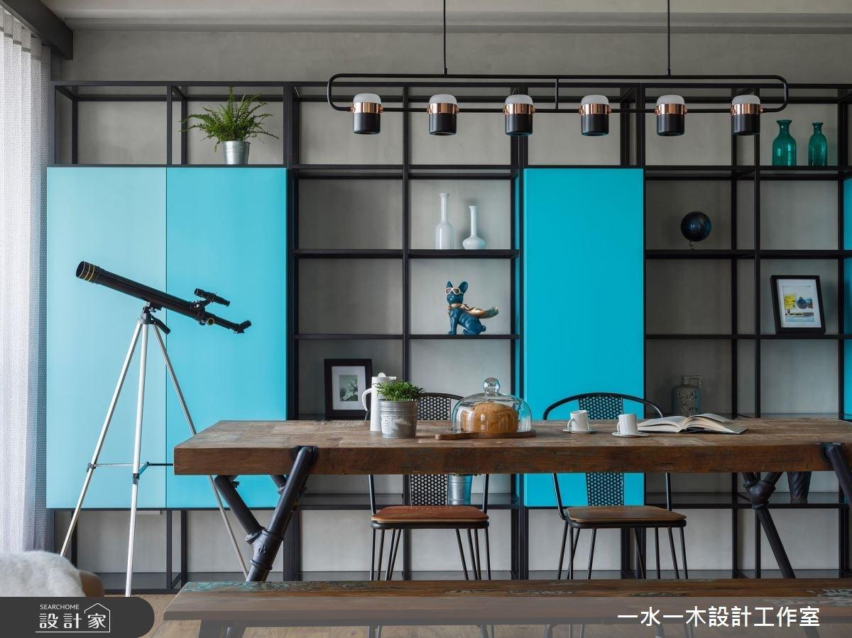 19坪新成屋(5年以下)_混搭風餐廳案例圖片_一水一木設計工作室_一水一木_40之10