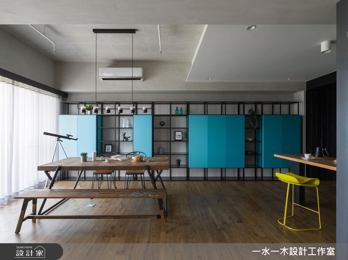 19坪新成屋(5年以下)_混搭風餐廳案例圖片_一水一木設計工作室_一水一木_40之12