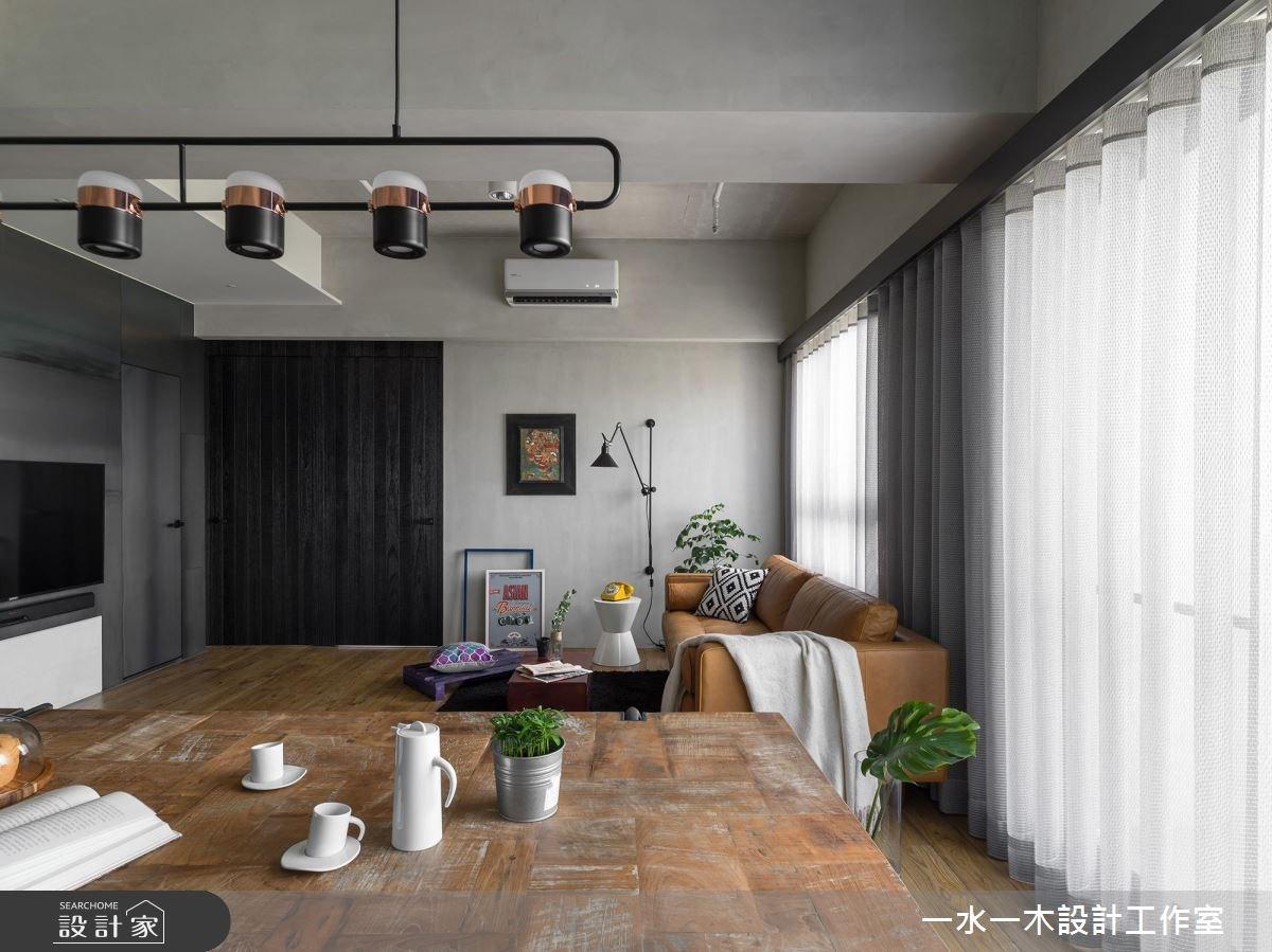 19坪新成屋(5年以下)_混搭風餐廳案例圖片_一水一木設計工作室_一水一木_40之13