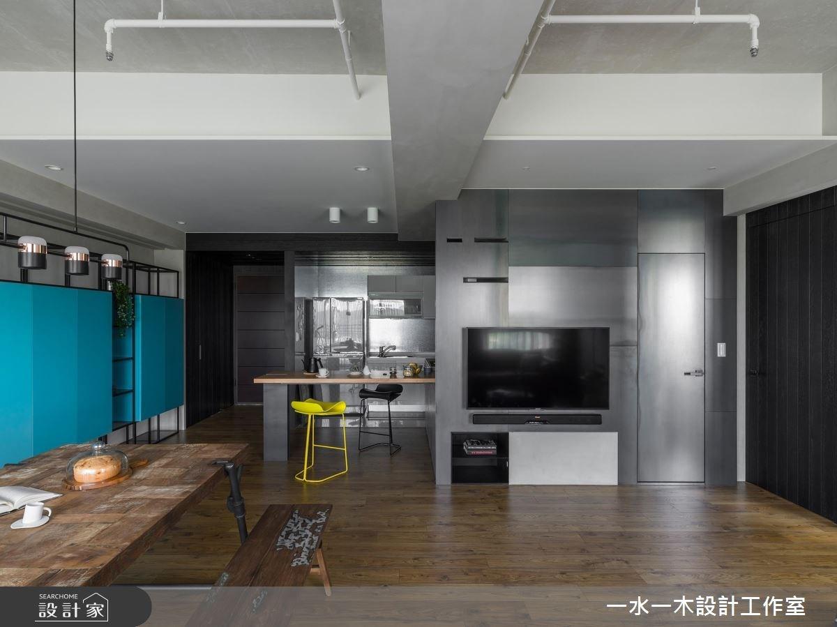 19坪新成屋(5年以下)_混搭風餐廳案例圖片_一水一木設計工作室_一水一木_40之16