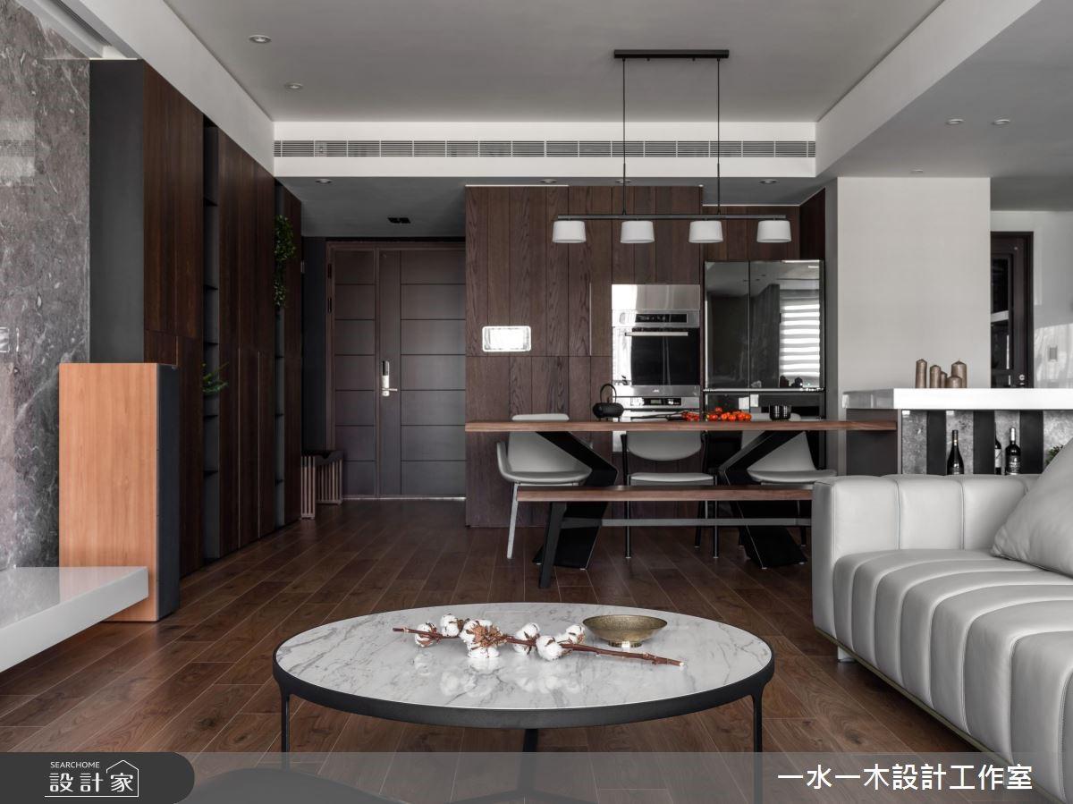 45坪新成屋(5年以下)_人文禪風客廳案例圖片_一水一木設計工作室_一水一木_41之3