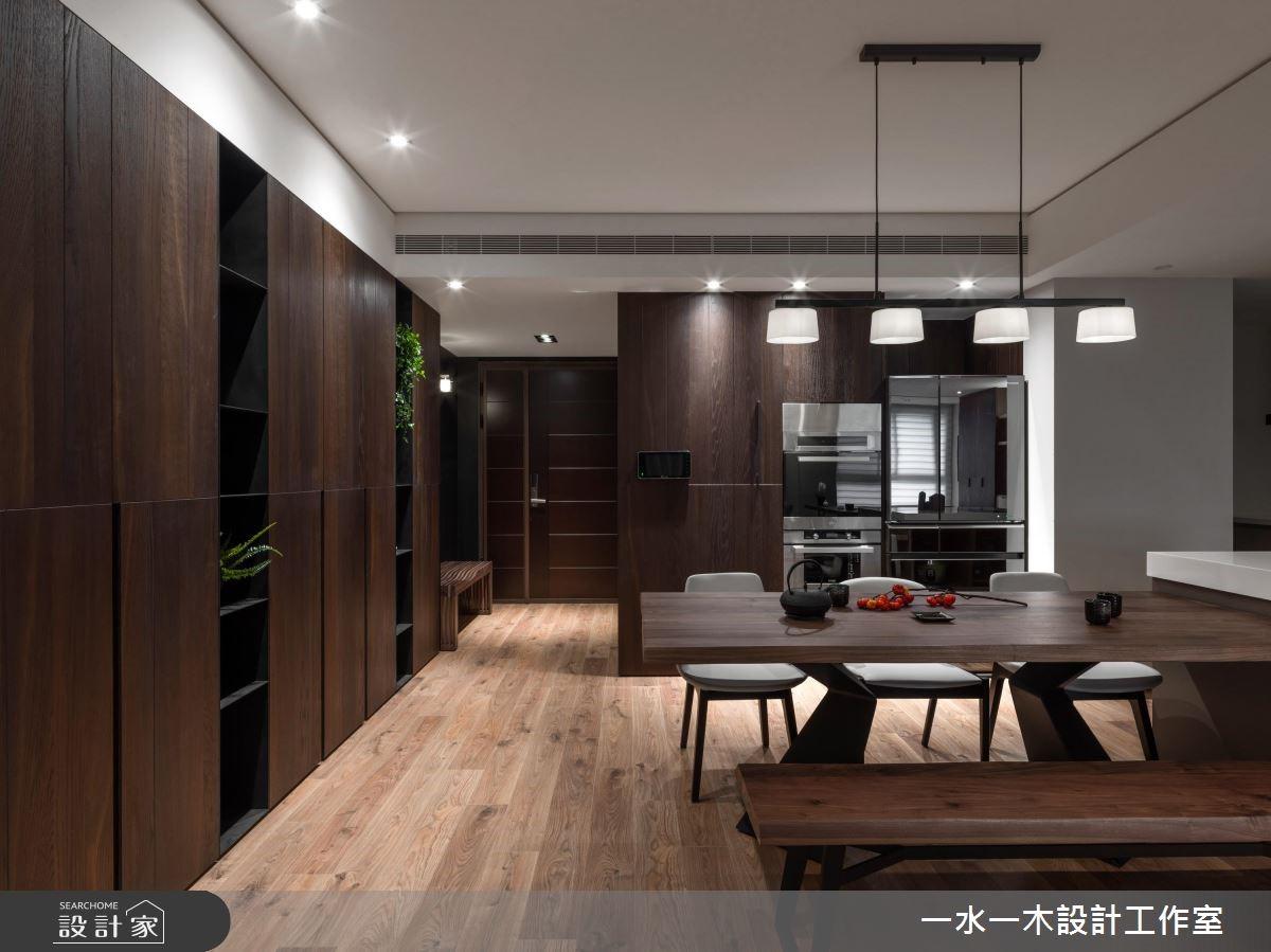 45坪新成屋(5年以下)_人文禪風餐廳案例圖片_一水一木設計工作室_一水一木_41之2