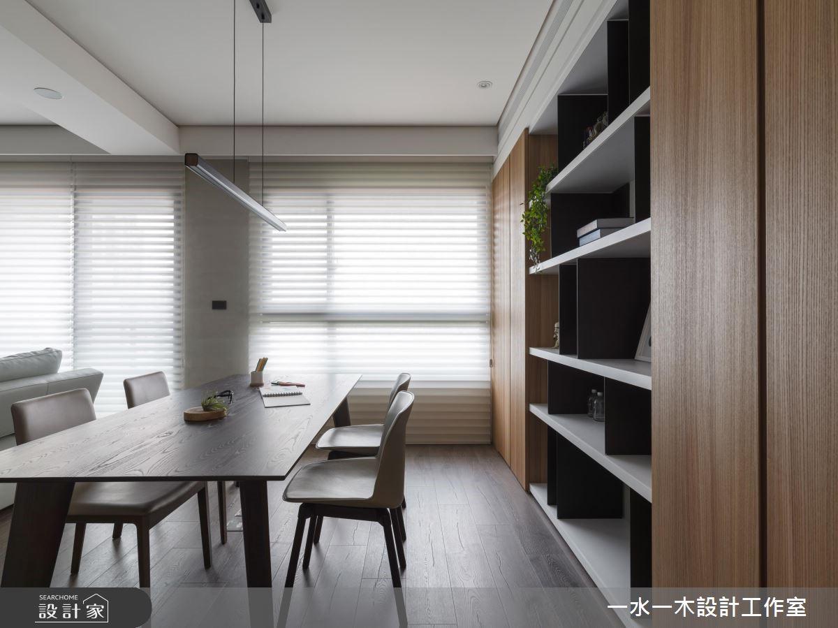 27坪新成屋(5年以下)_現代風餐廳案例圖片_一水一木設計工作室_一水一木_42之4