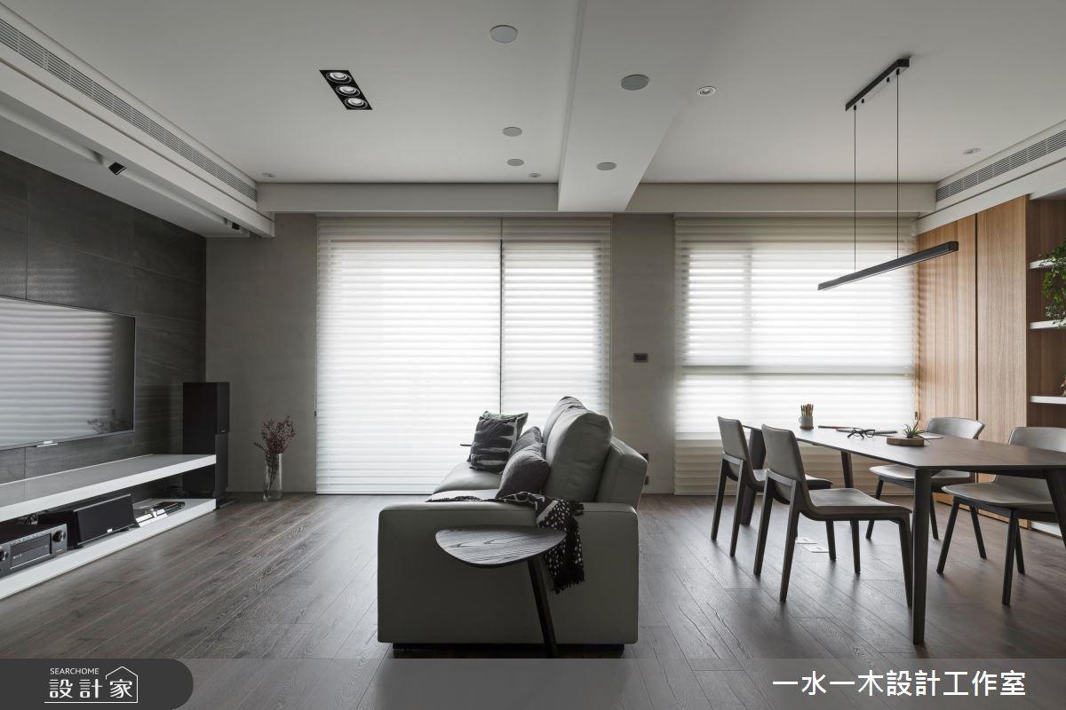 27坪新成屋(5年以下)_現代風客廳案例圖片_一水一木設計工作室_一水一木_42之3