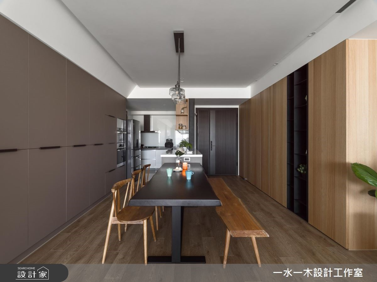 38坪新成屋(5年以下)_現代風餐廳案例圖片_一水一木設計工作室_一水一木_43之3