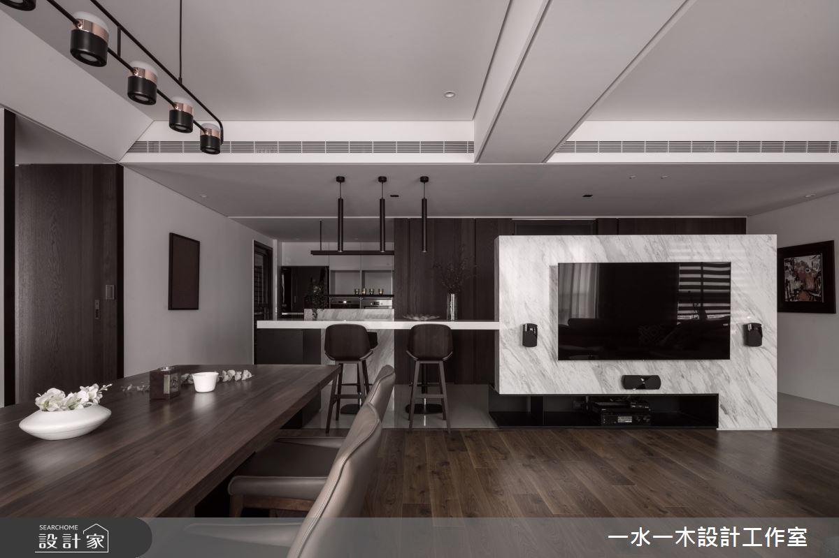 40坪新成屋(5年以下)_現代風客廳案例圖片_一水一木設計工作室_一水一木_48之2