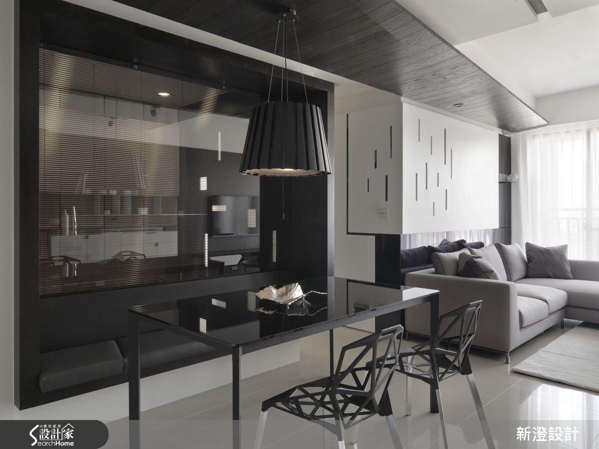 34坪預售屋_現代風客廳餐廳案例圖片_新澄設計_新澄_13之3