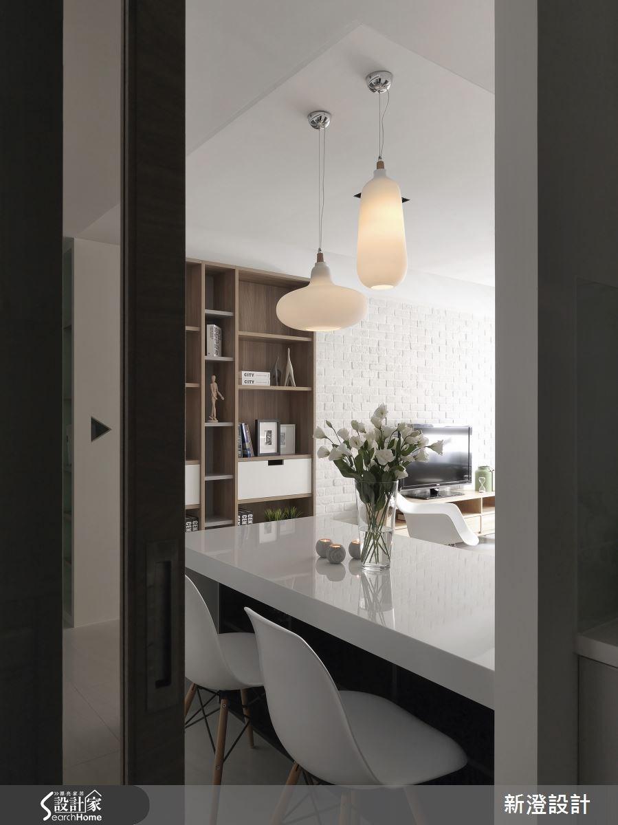 32坪新成屋(5年以下)_北歐風餐廳案例圖片_新澄設計_新澄_14之4