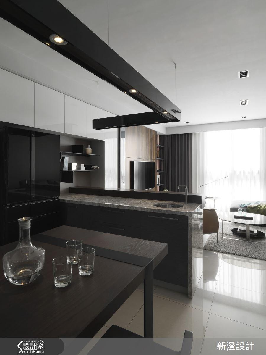 50坪預售屋_現代風餐廳廚房案例圖片_新澄設計_新澄_16之3