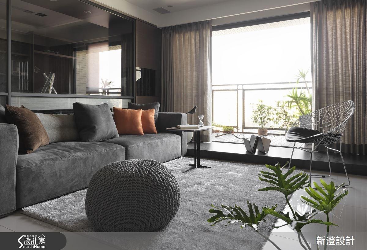 42坪預售屋_現代風客廳案例圖片_新澄設計_新澄_09之1