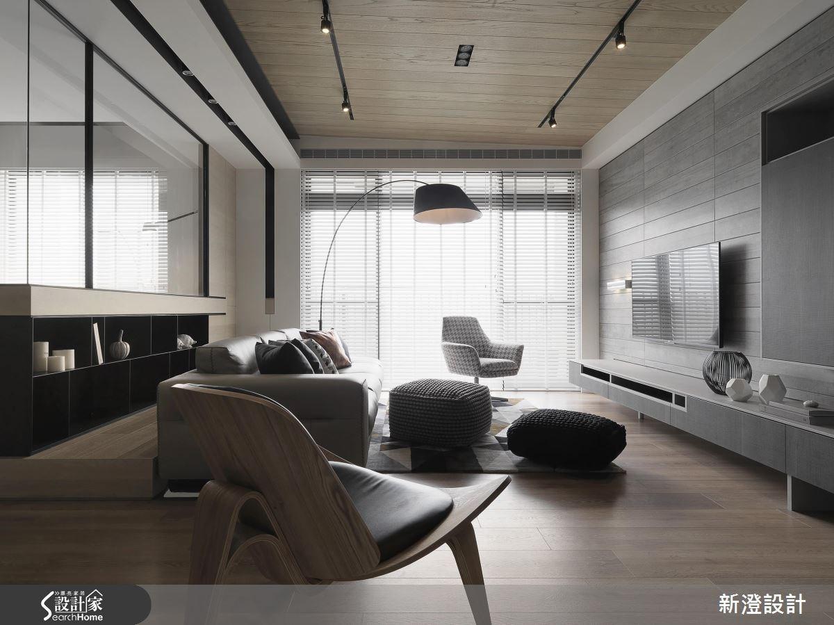 52坪新成屋(5年以下)_現代風客廳案例圖片_新澄設計_新澄_36之1