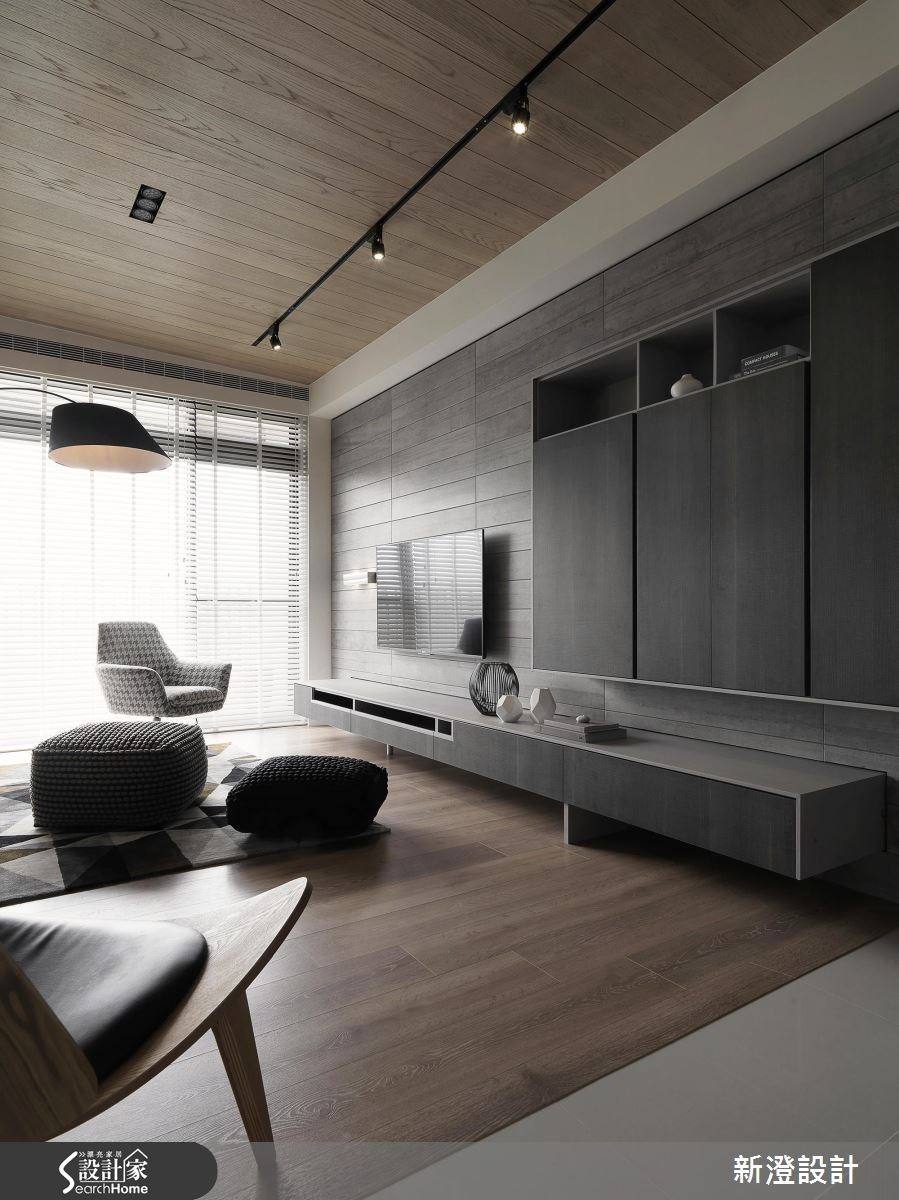 52坪新成屋(5年以下)_現代風客廳案例圖片_新澄設計_新澄_36之2