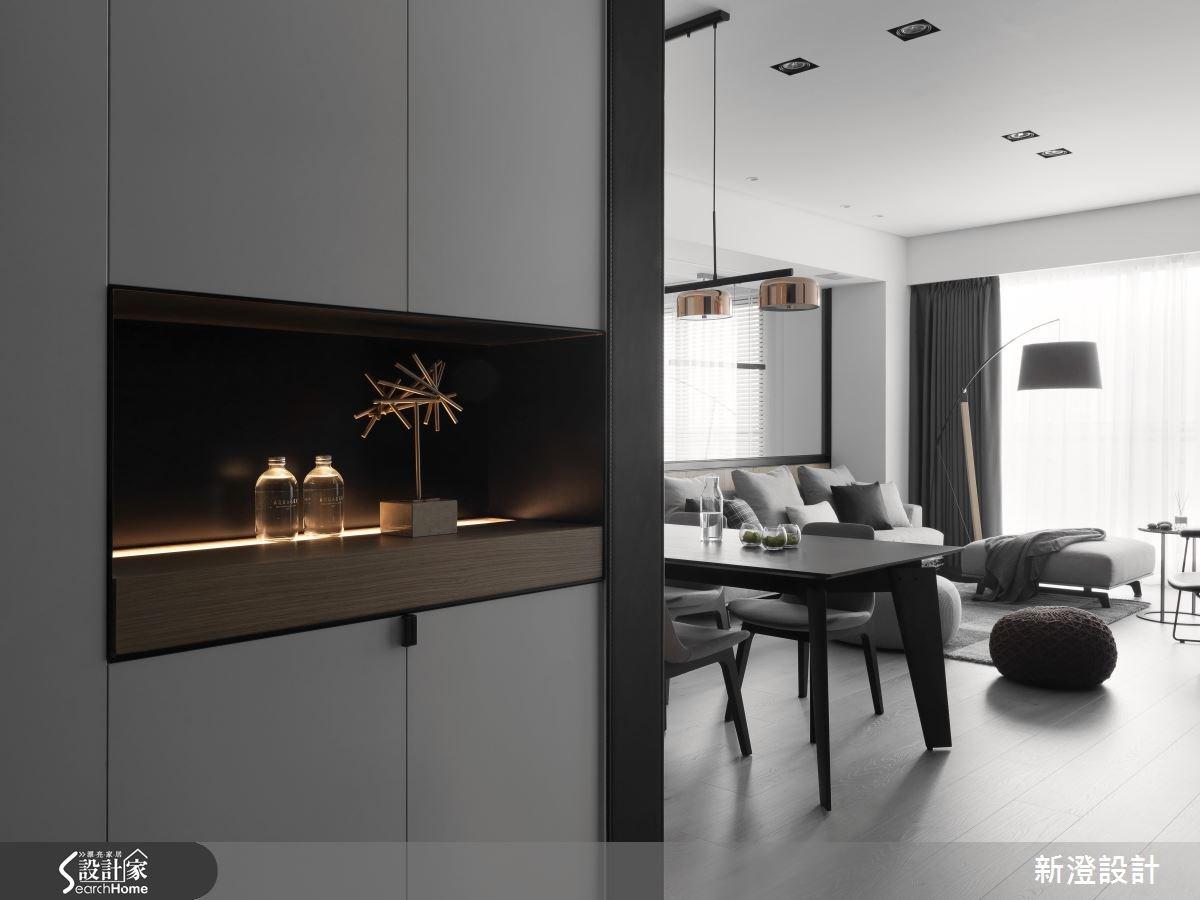 52坪新成屋(5年以下)_現代風玄關客廳案例圖片_新澄設計_新澄_28之1