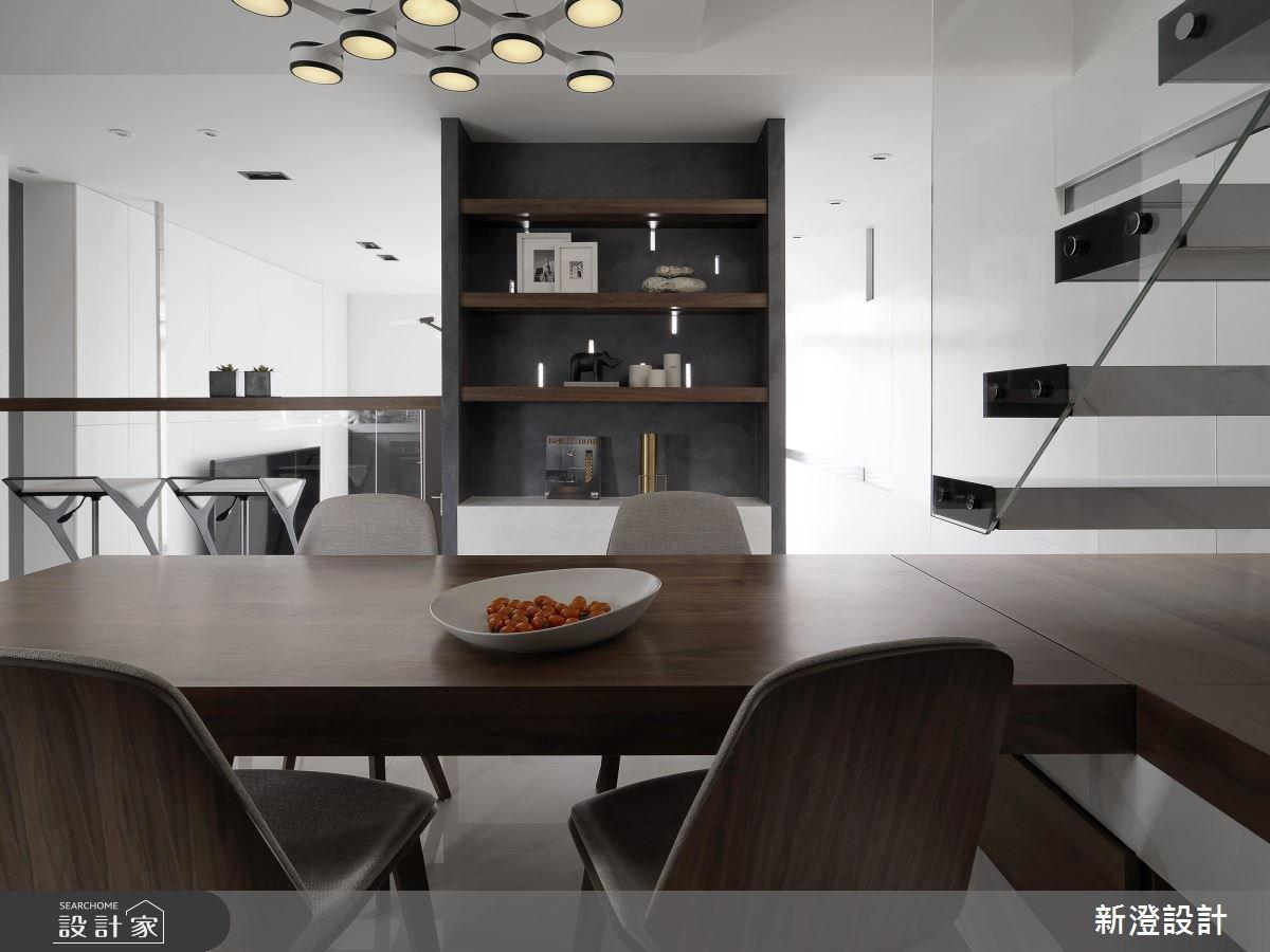 75坪新成屋(5年以下)_現代風餐廳案例圖片_新澄設計_新澄_30之3