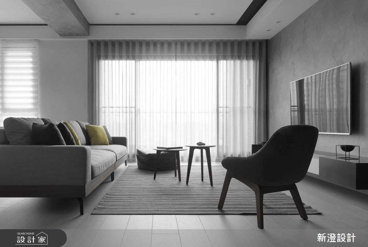 60坪新成屋(5年以下)_現代風客廳案例圖片_新澄設計_新澄_31之3