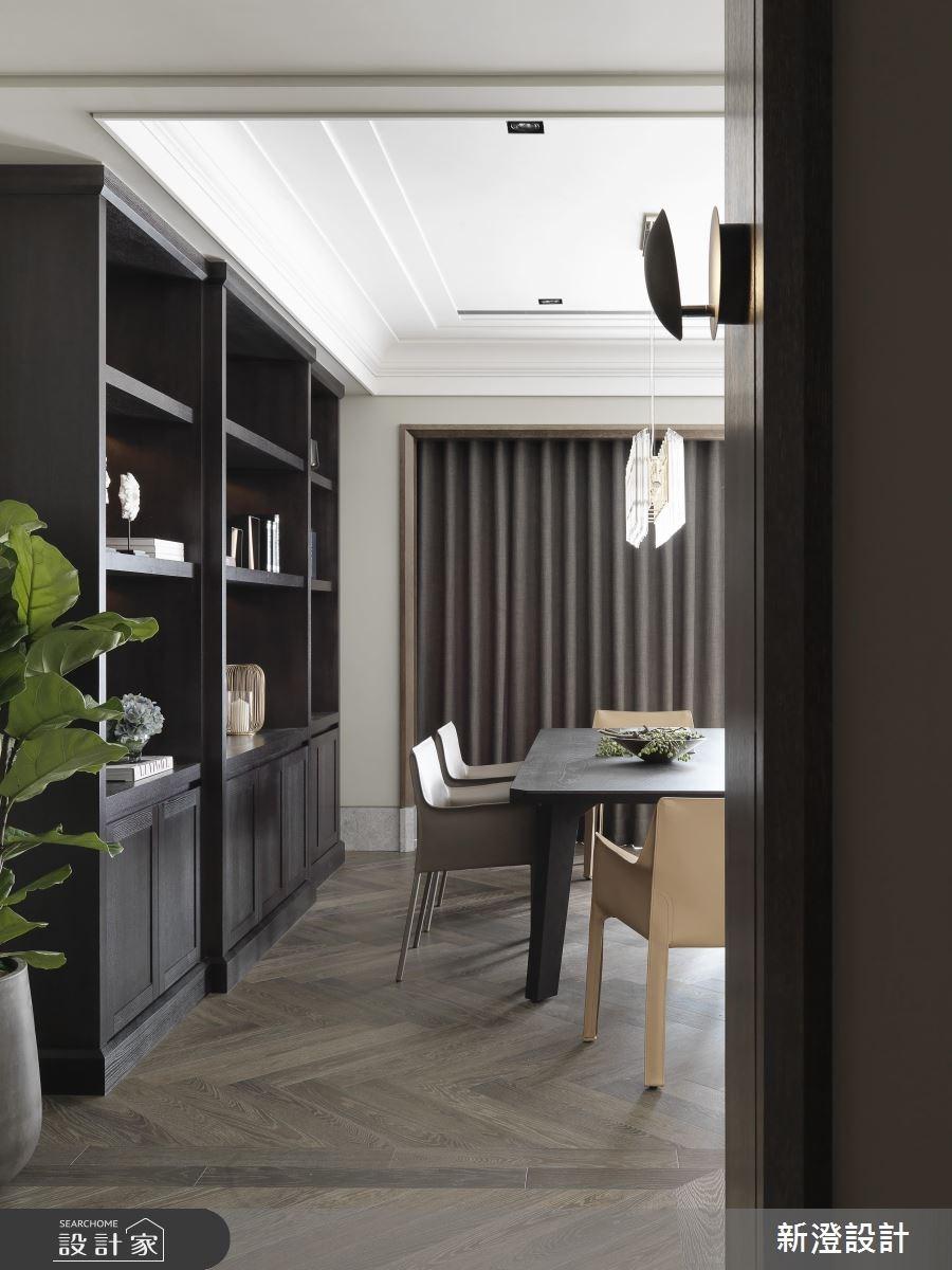 63坪新成屋(5年以下)_現代風餐廳案例圖片_新澄設計_新澄_33之2