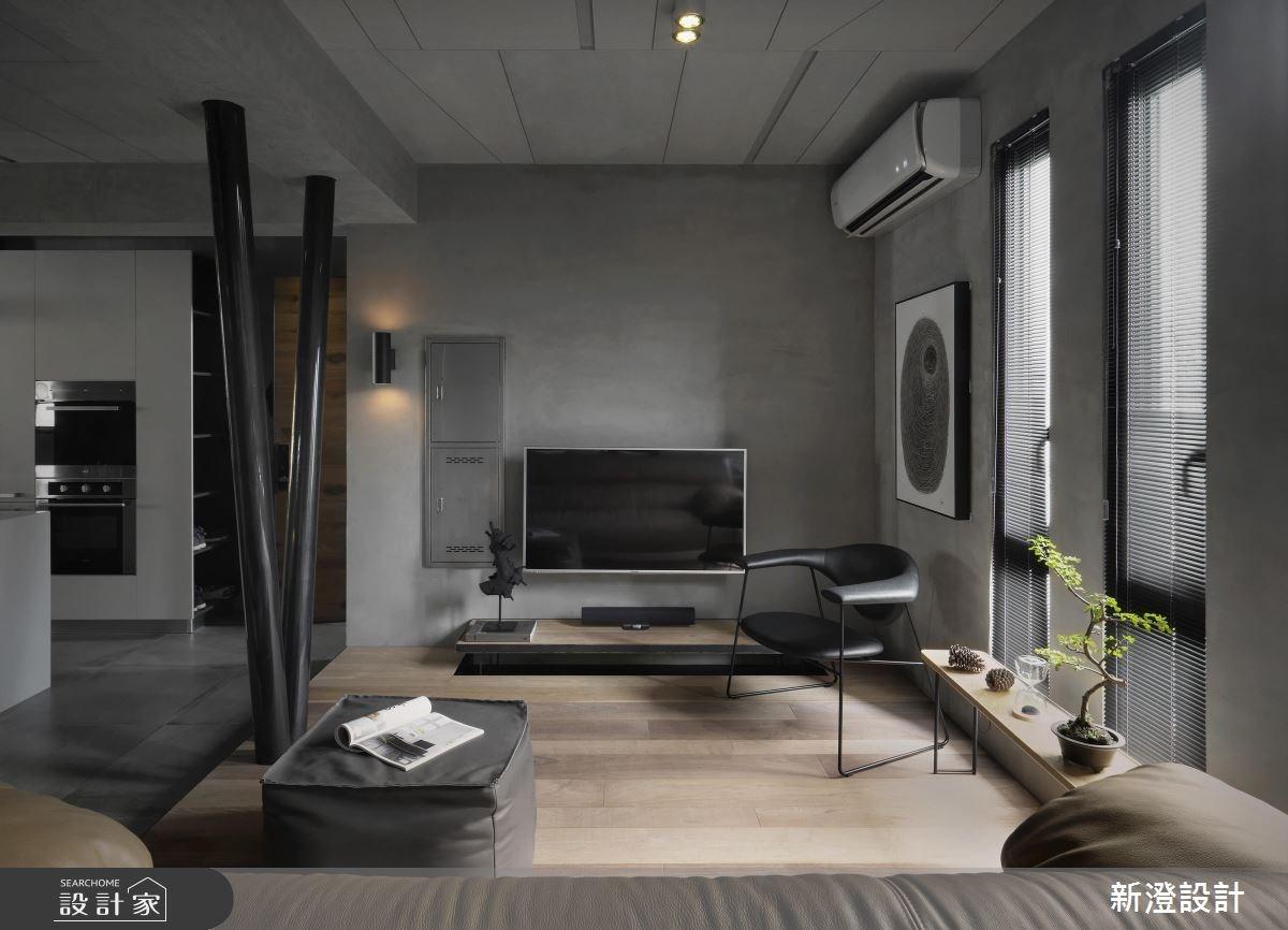 32坪老屋(16~30年)_現代風客廳案例圖片_新澄設計_新澄_34之3